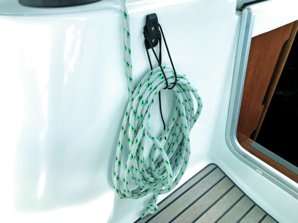 rope and extension cord holder