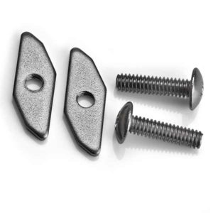 Track nut kit for track mountable accessories